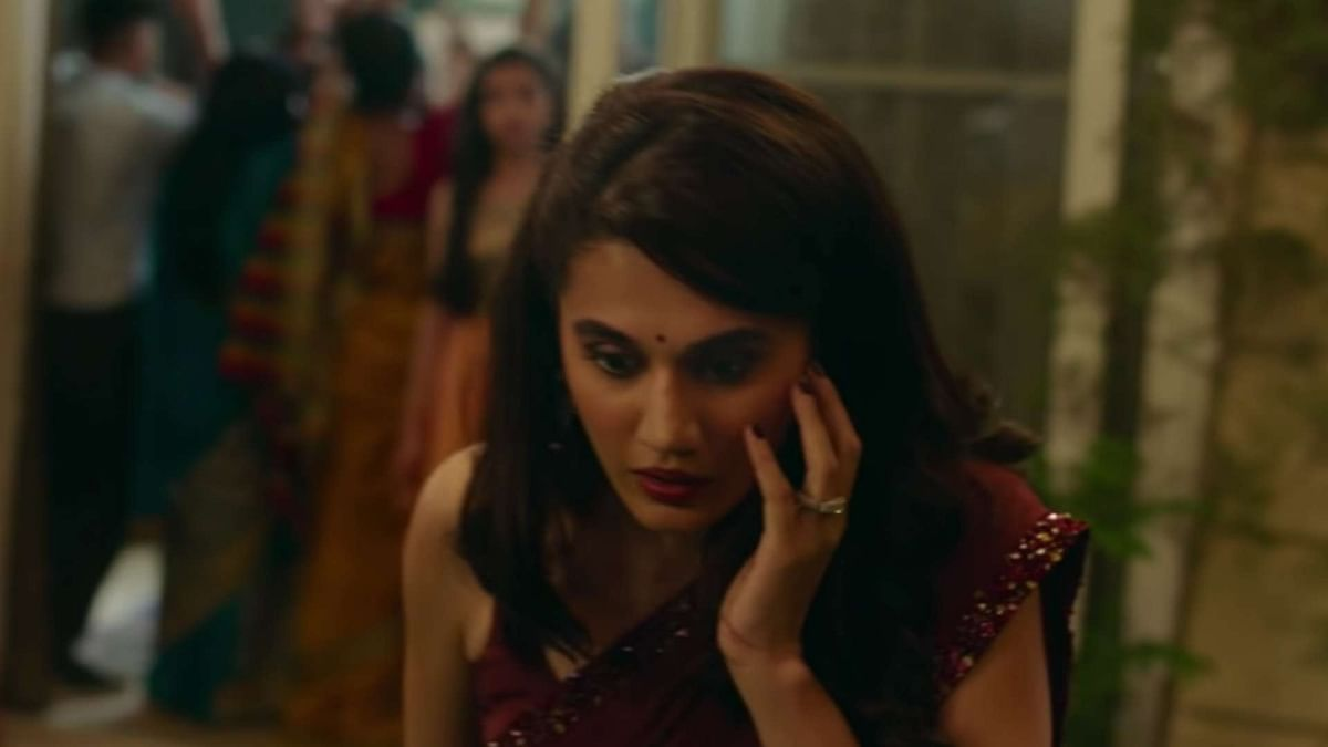Was Slapped Seven Times While Filming 'Thappad', Reveals Taapsee