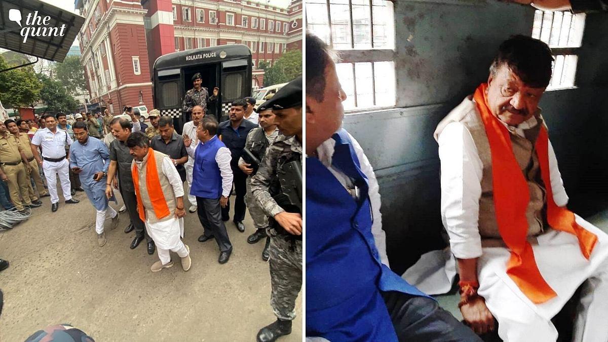 Vijayvargiya, BJP Leaders Detained Before Pro-CAA Rally in Kolkata
