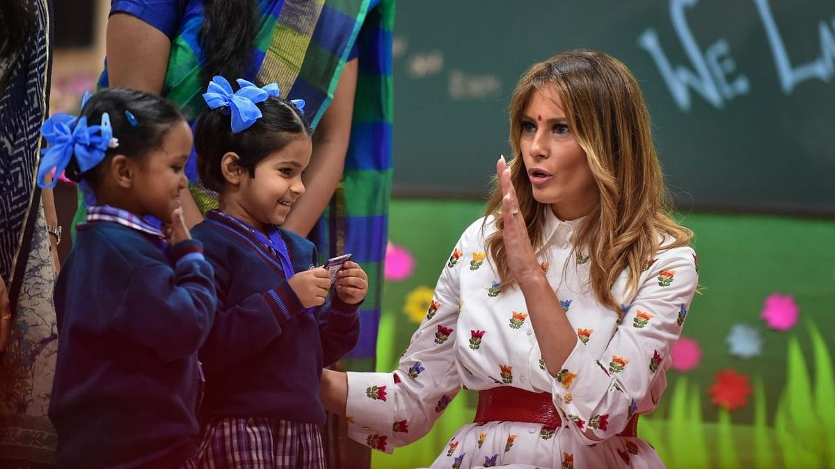 'Happiness Class Inspiring': Melania Trump on Delhi School Visit