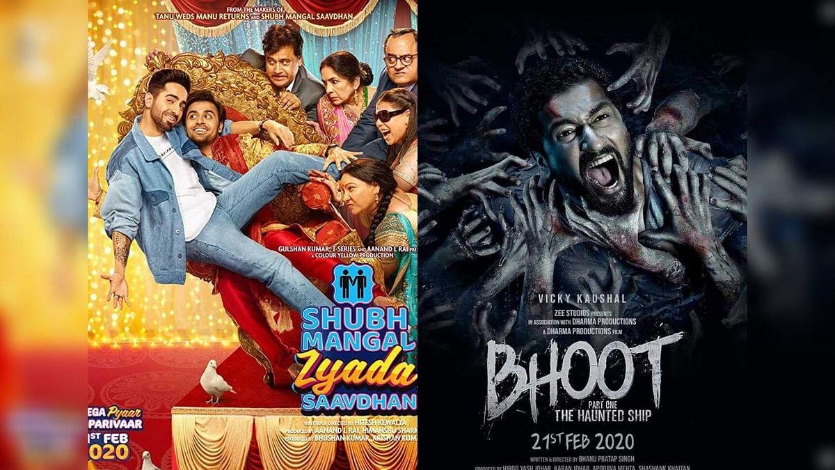 Ayushmann's <i>Shubh Mangal Zyada Saavdhan </i>had a better opening weekend than Vicky's <i>Bhoot</i>.