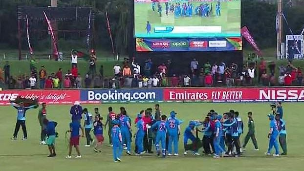 India-B'desh Players Involved in Ugly Spat After U-19 WC Final