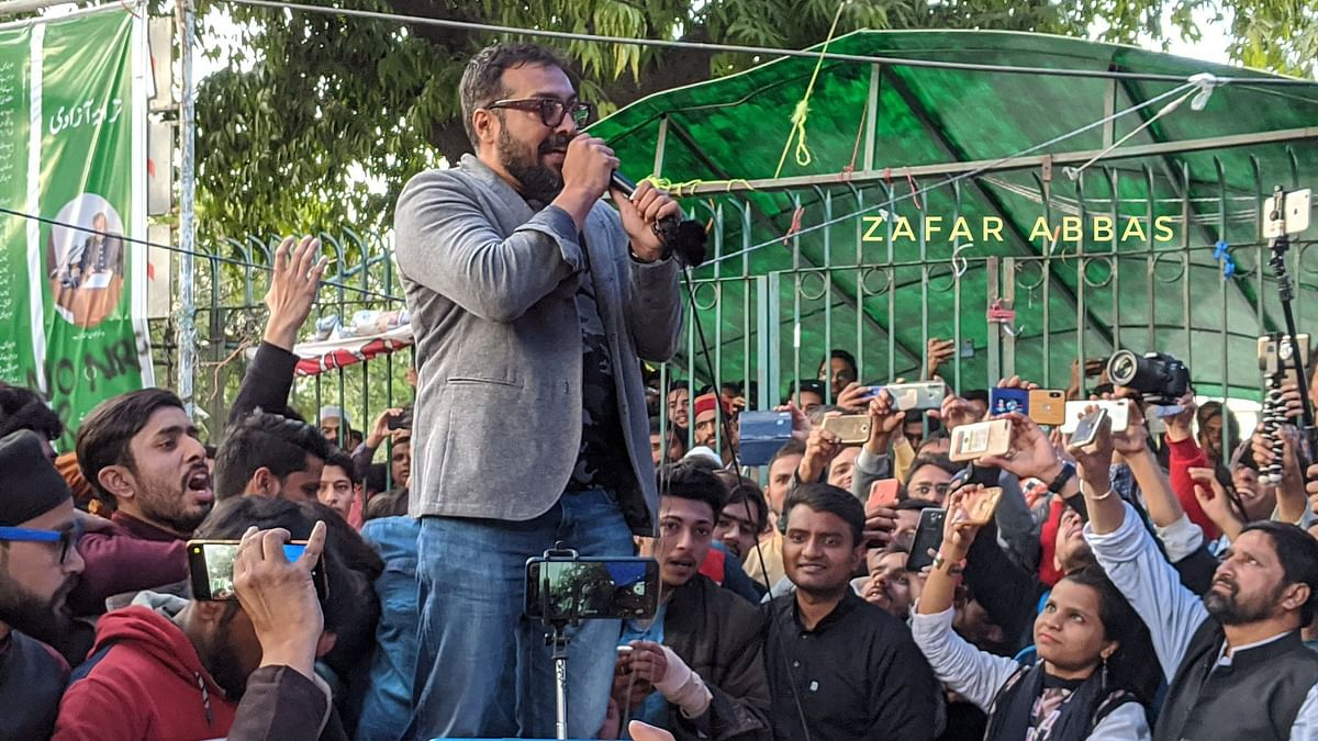 This Is a Long Fight: Anurag Kashyap At Anti-CAA Protest in Jamia