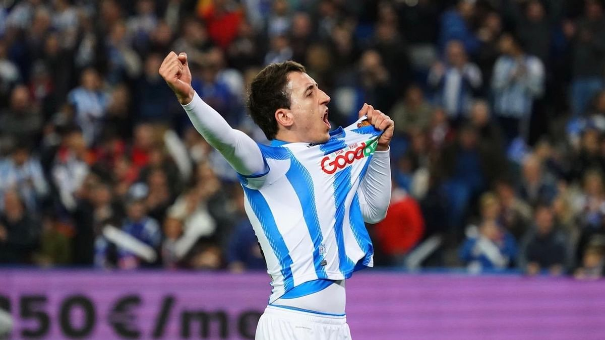 Real Sociedad beat Mirandés 2-1 on Thursday, 13 February in the first leg of their Copa del Rey semifinal.