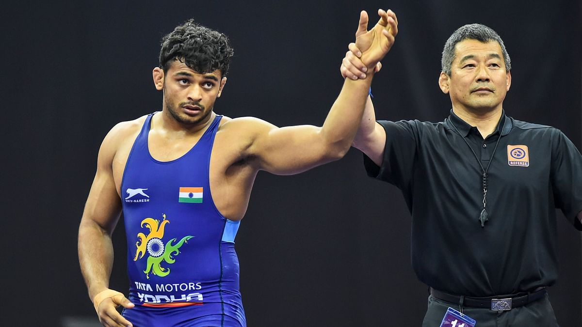 Deepak started with an 8-2 win over Mongolia's Gankhuyag Ganbaatar before losing 4-1 to Japan's Shutaro Yamada in the semi-final.