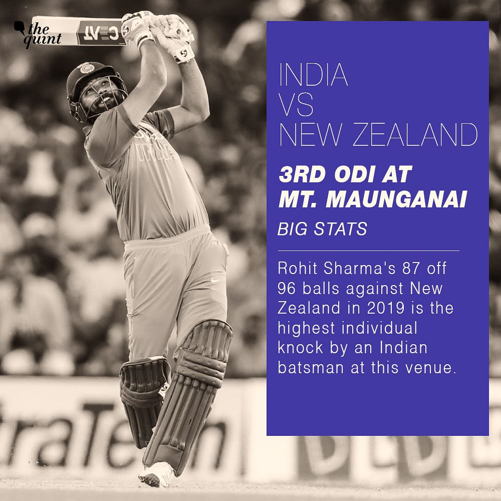 Stats: Team India Unbeaten in ODIs at Bay Oval in Mt Maungania