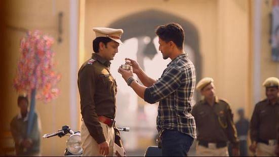 Tiger Shroff and Riteish Deshmukh in <i>Baaghi 3</i>