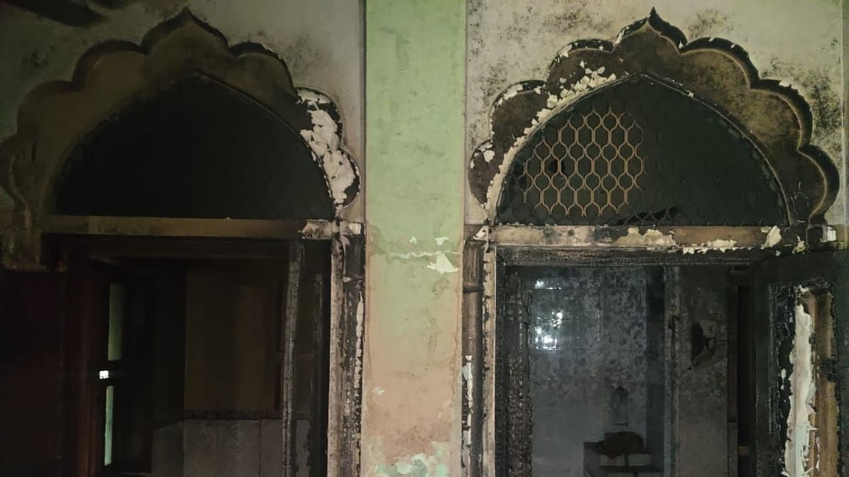 Chand Masjid in Ashok Nagar was vandalised by a mob on during Delhi Riots.