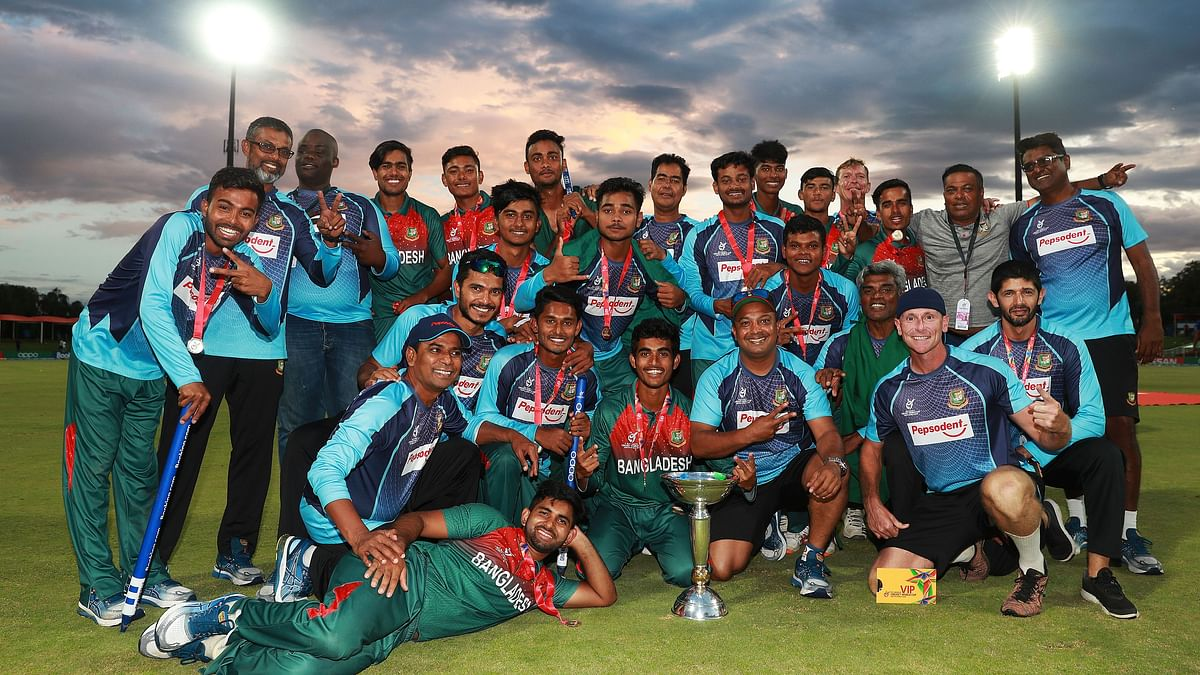B'desh Government to Organise Public Reception for  U-19 WC Team