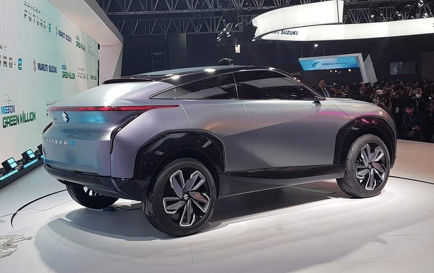 The rear of the Concept Futuro E by Maruti Suzuki.