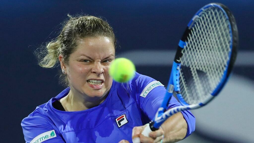 Kim Clijsters was making a second comeback — this time after more than seven years away from professional tennis.