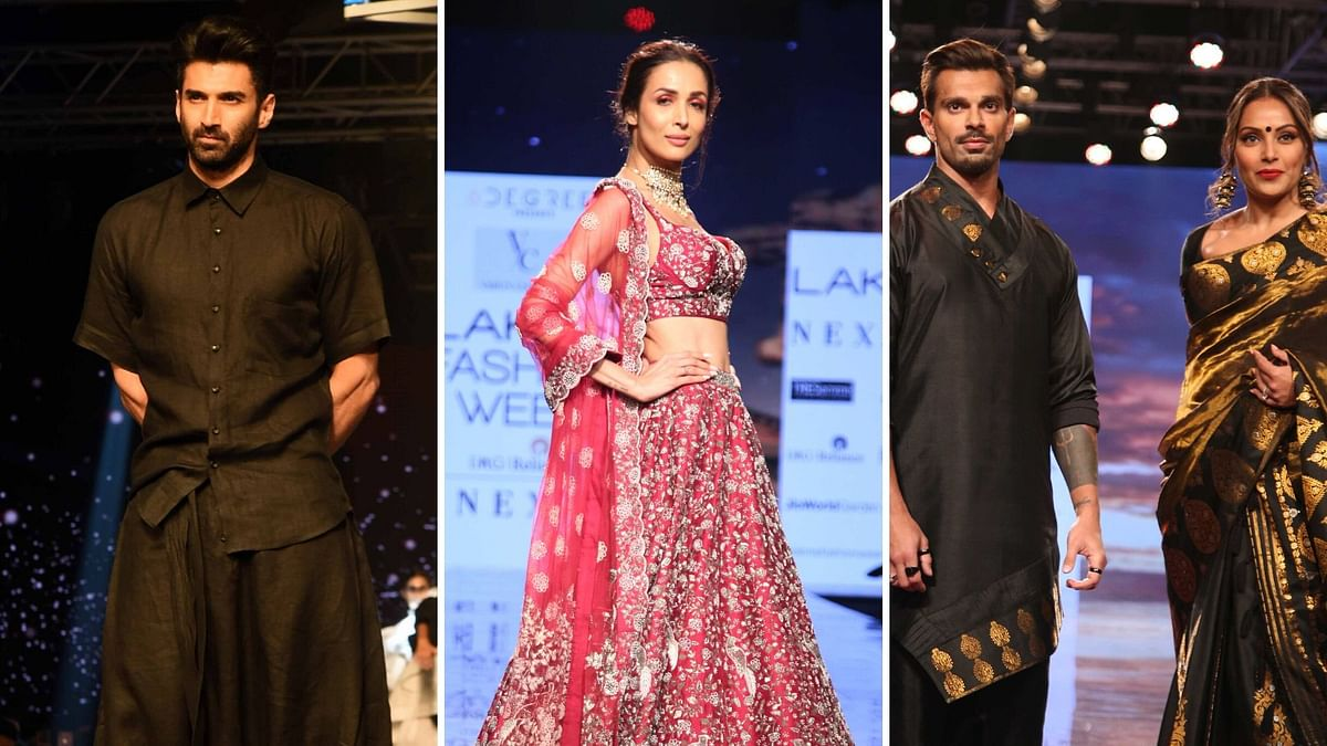 Aditya, Malaika, Bipasha Dazzle on Day 3 of Lakme Fashion Week