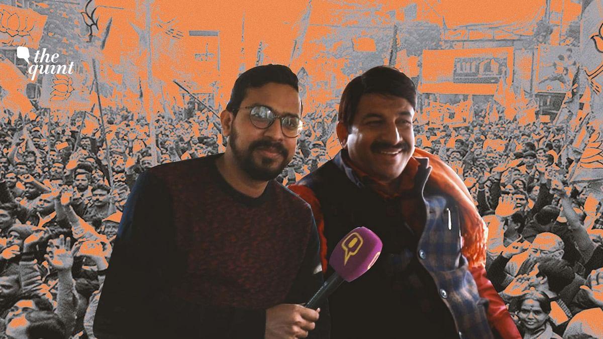 Manoj Tiwari on Shaheen Bagh, NRC & Kejriwal Ahead of Delhi Polls