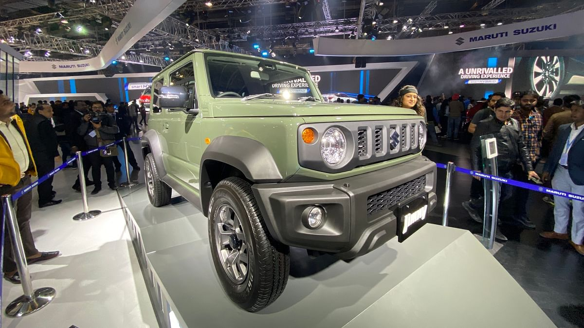 First Look: Maruti Suzuki Jimny SUV at the Auto Expo 2020