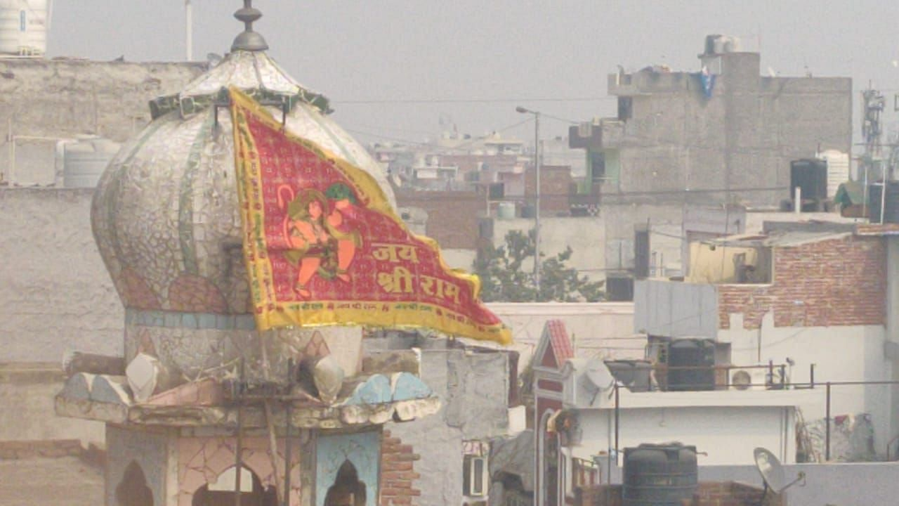 During Delhi riots, a mosque was vandalised and set on fire in Ashok Nagar's Gali No 5.