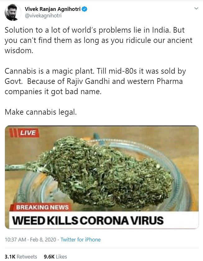 WebQoof Recap: From Empty Shaheen Bagh to Weed Curing Coronavirus