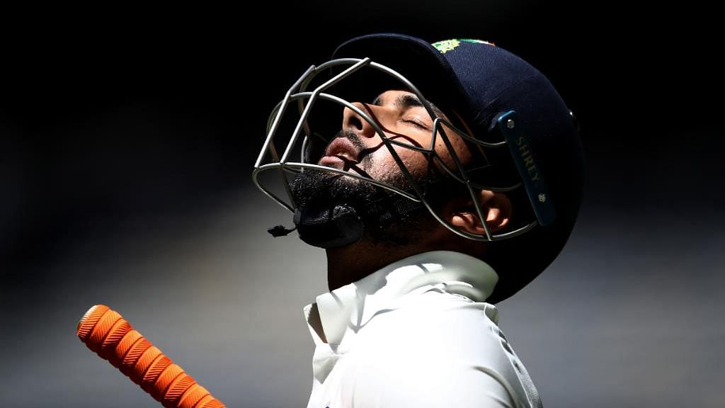 Pant Needs to Accept He Is Going Through a Rough Patch: Rahane