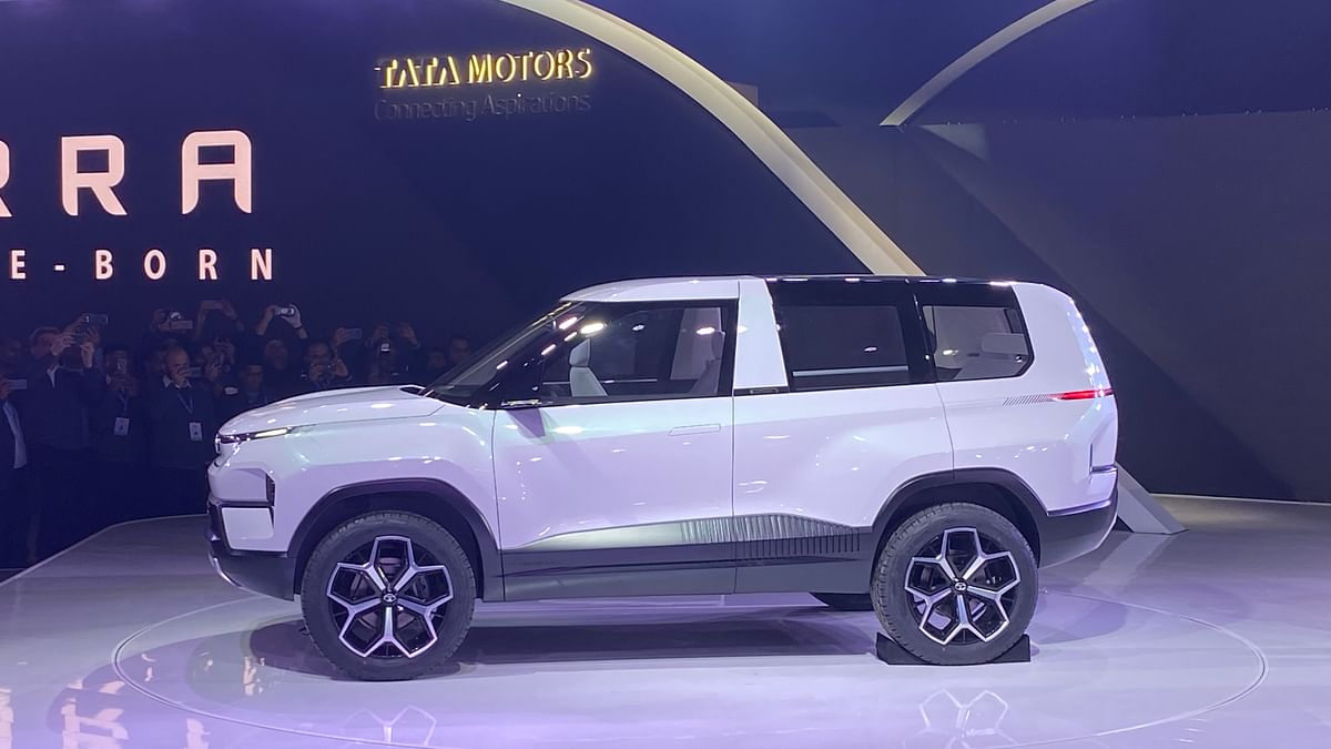 Sierra concept comes with sliding doors.
