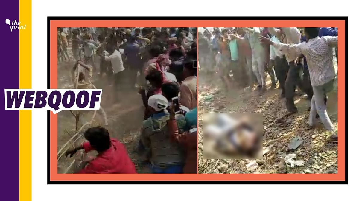 MP Video of Mob Beating Farmers Viral As 'RSS Atrocity' in Delhi