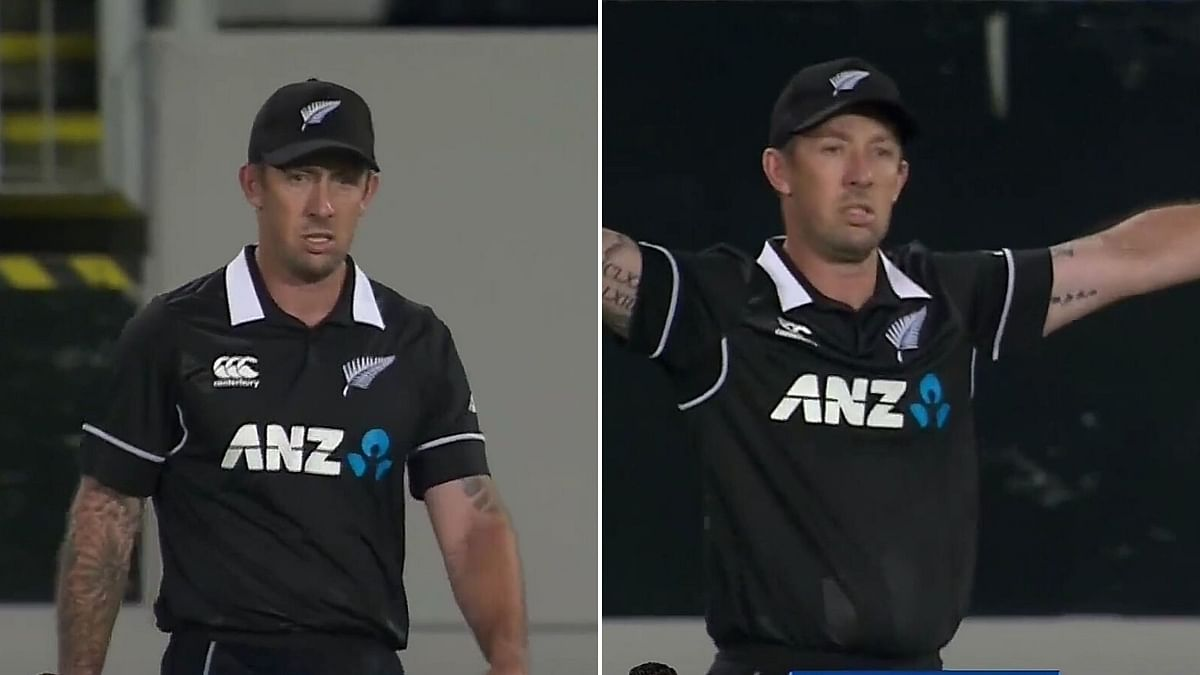Twitter Amused as NZ Assistant Coach Forced to Field as Substitute