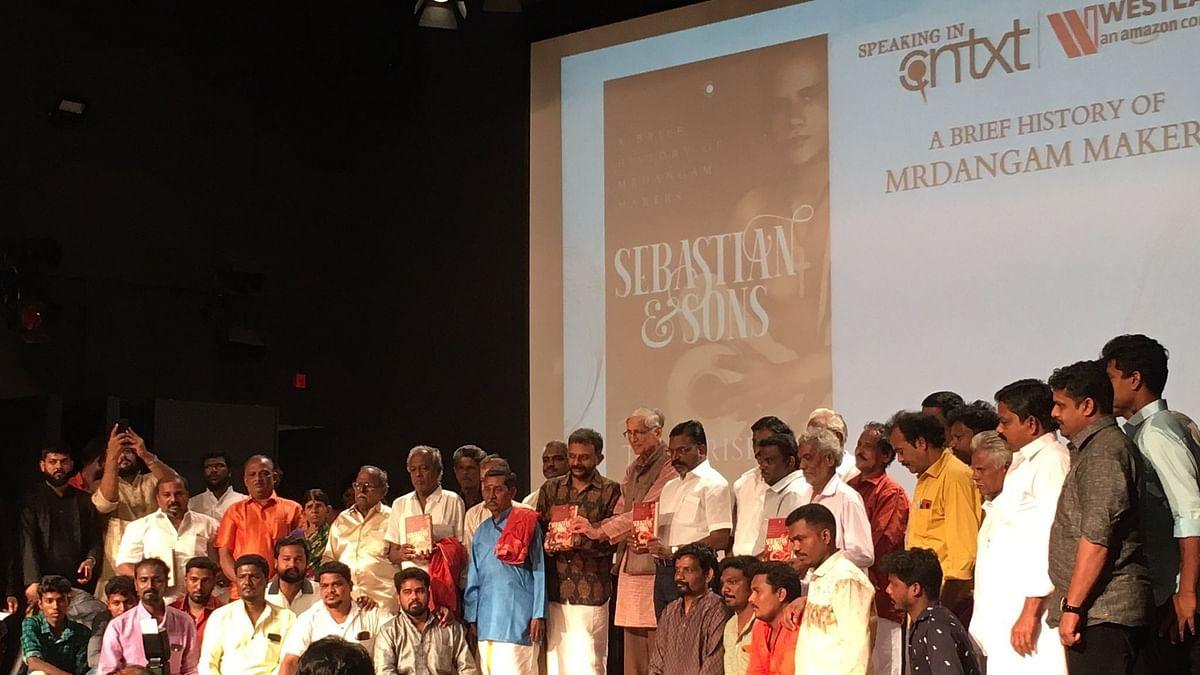 TM Krishna's New Book on Mrdangam Makers Focuses on Caste Divide