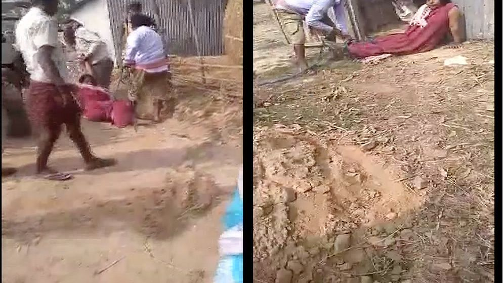 Bengal Woman Tied, Dragged & Beaten Allegedly by TMC Leader