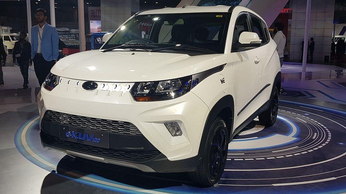 Auto Expo 2020: Mahindra eKUV100 Launched, Funster EV Showcased
