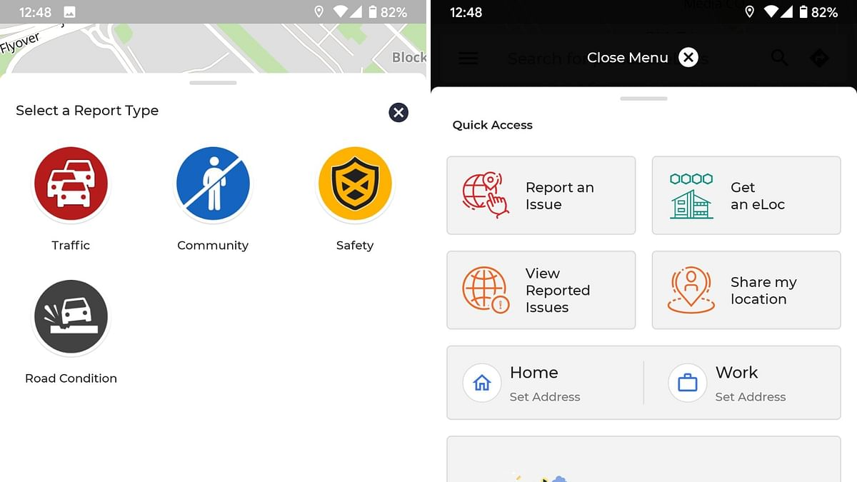 Key features of the Move app.