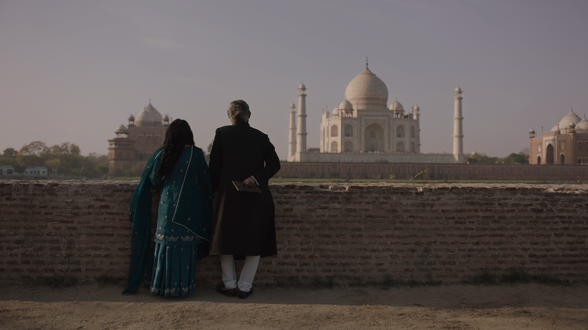 A still from <i>Taj Mahal 1989</i>.