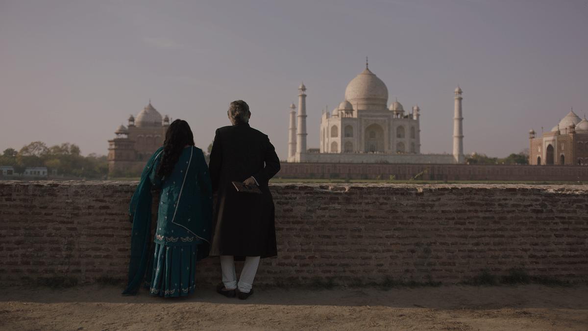 A still from <i>Taj Mahal 1989</i>.