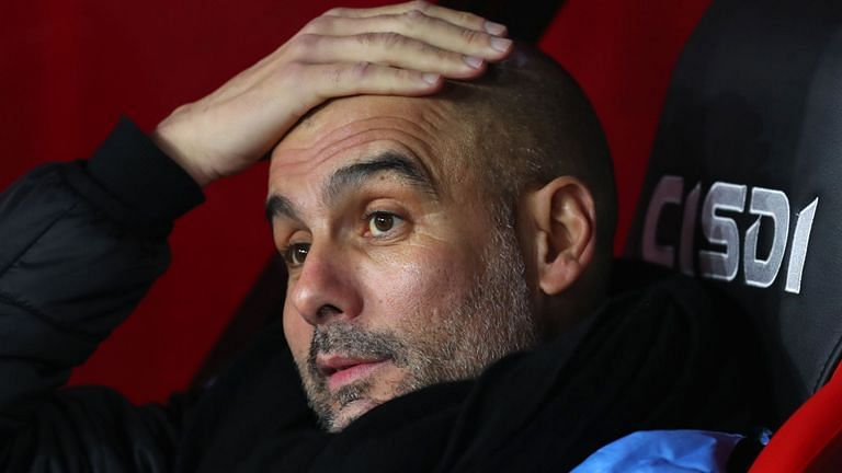 Pep Guardiola's Manchester City has been banned from the Champions League for two seasons.