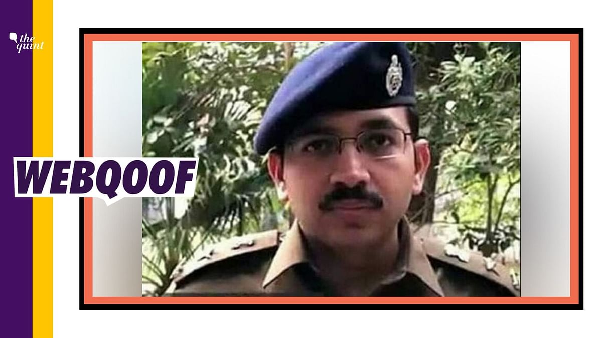 A viral message falsely claimed that Delhi DCP Amit Sharma passed away during Delhi violence.