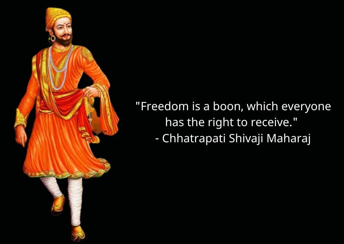 Chhatrapati Shivaji Maharaj Jayanti Quotes In English