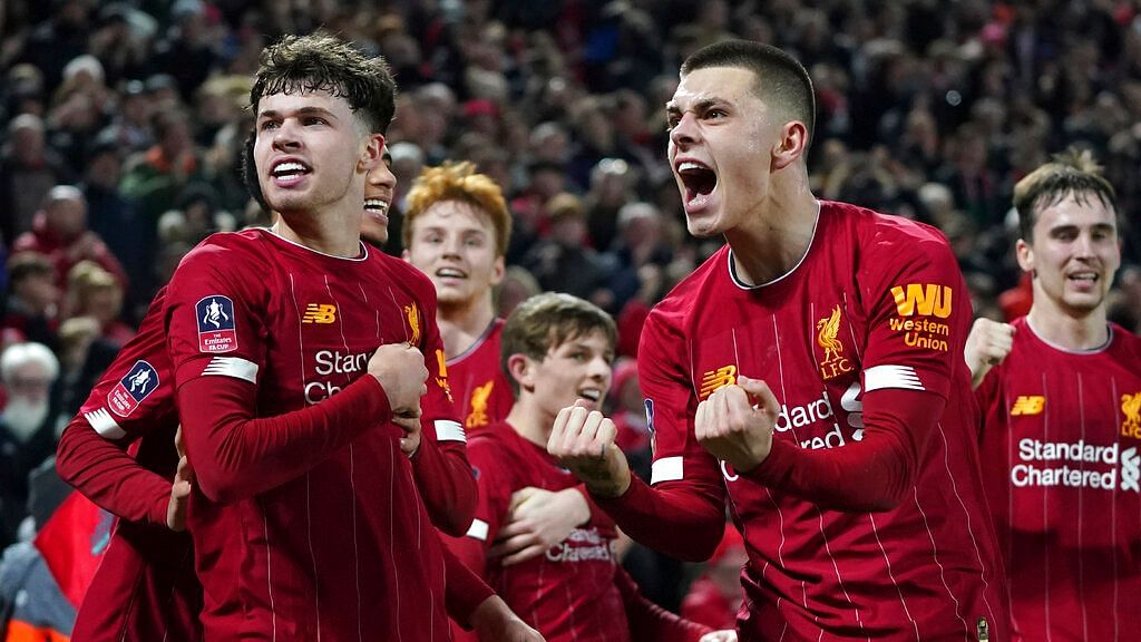 Liverpool Youngsters Beat Shrewsbury to Reach FA Cup Fifth Round