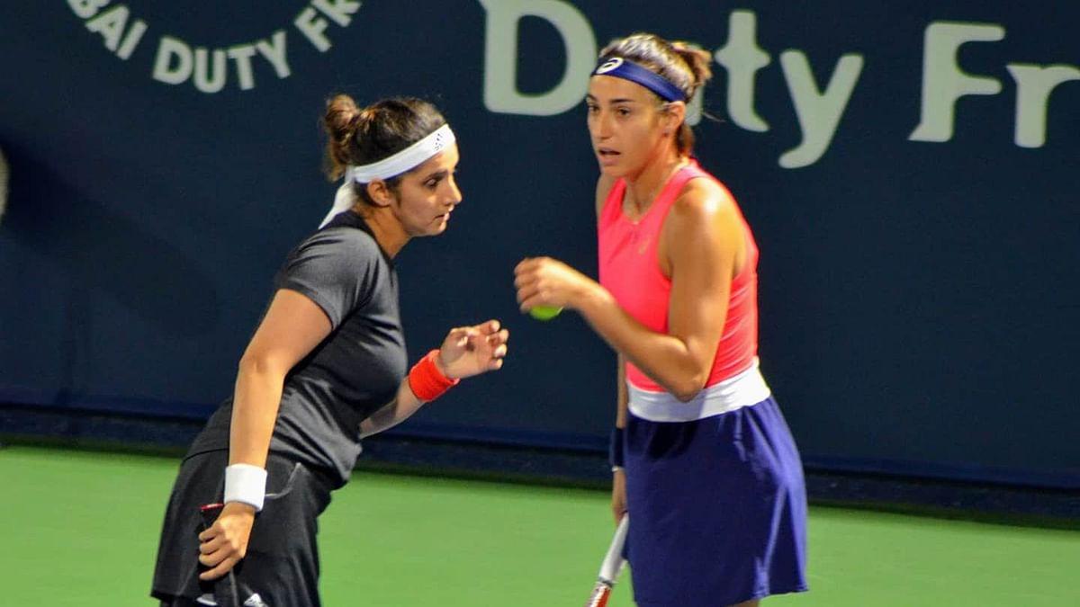 Sania Loses in Women's Doubles Second Round in Dubai