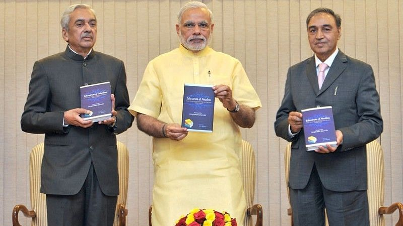 JS Rajput (left) has had a book launched by Prime Minister Narendra Modi before as well.