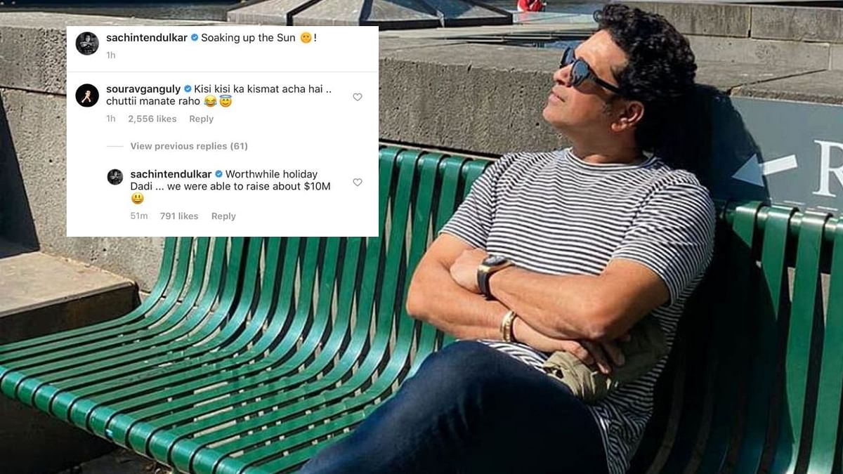 "Tendulkar on Thursday took to Instagram to post a picture from Southbank in Melbourne where he was seen ""Soaking up the Sun."""