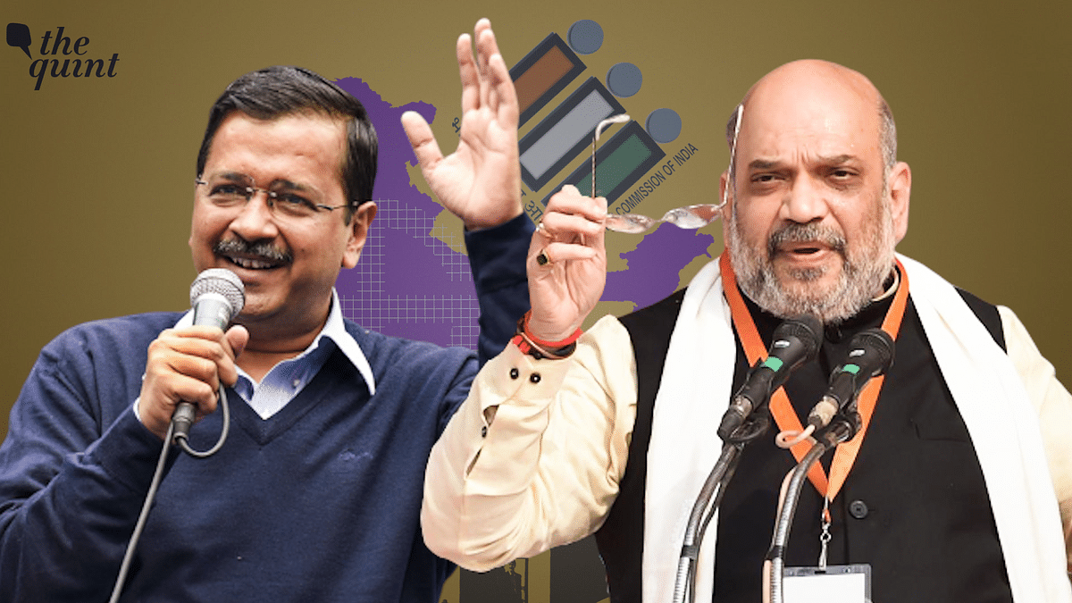 Delhi Polls: On The Campaign Trail With Kejriwal & Amit Shah