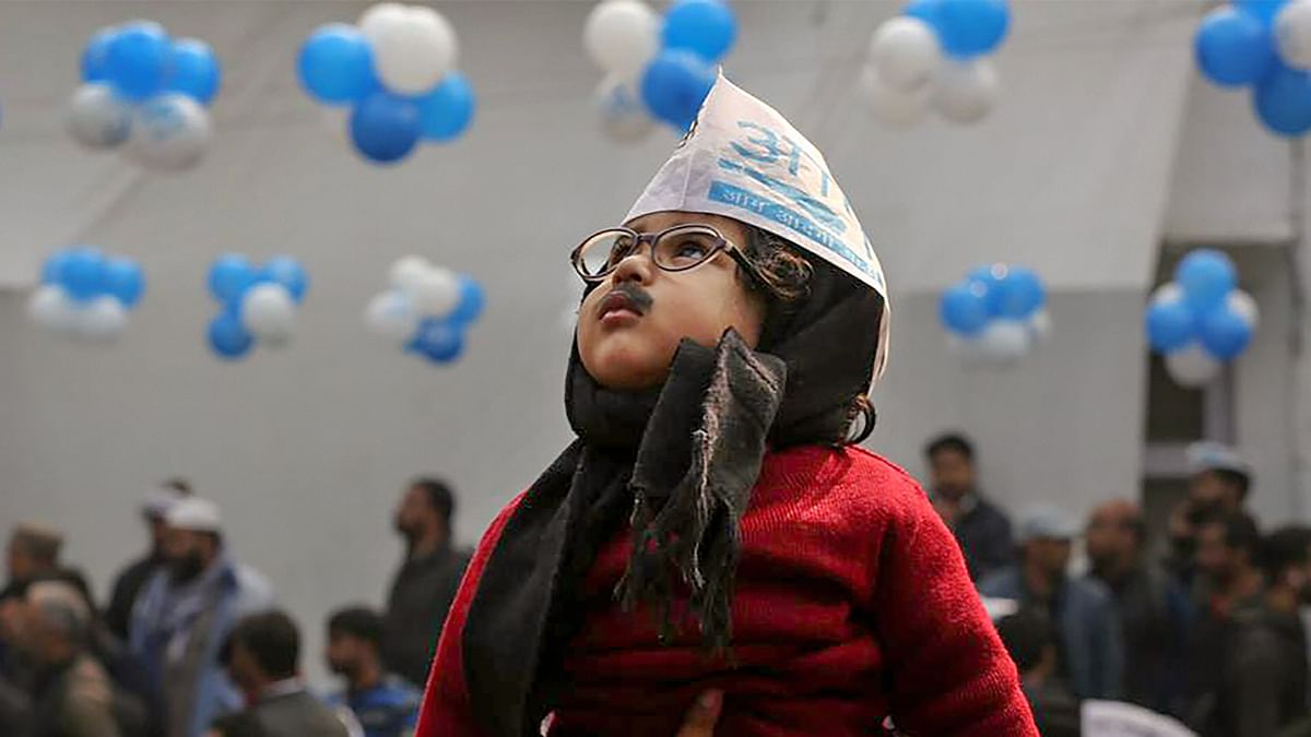 In Pics: Victory Party at AAP HQ, Silent Protest at Shaheen Bagh