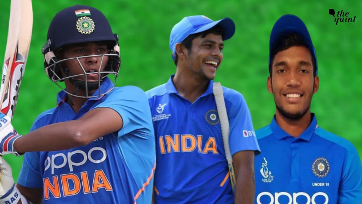 Yashasvi Jaiswal (left) and Atharva Ankolekar (right) have played pivotal roles for the Priyam Garg-led India U-19 side to reach the final of the World Cup.