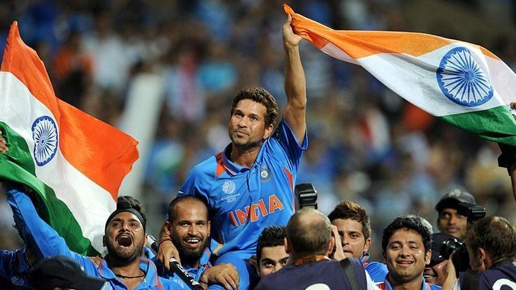 The 2011 World Cup victory still gives master baster Sachin Tendulkar the goosebumps.