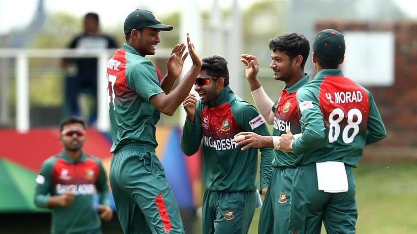 Bangladesh Skittle out India for 177 in U-19 World Cup Final