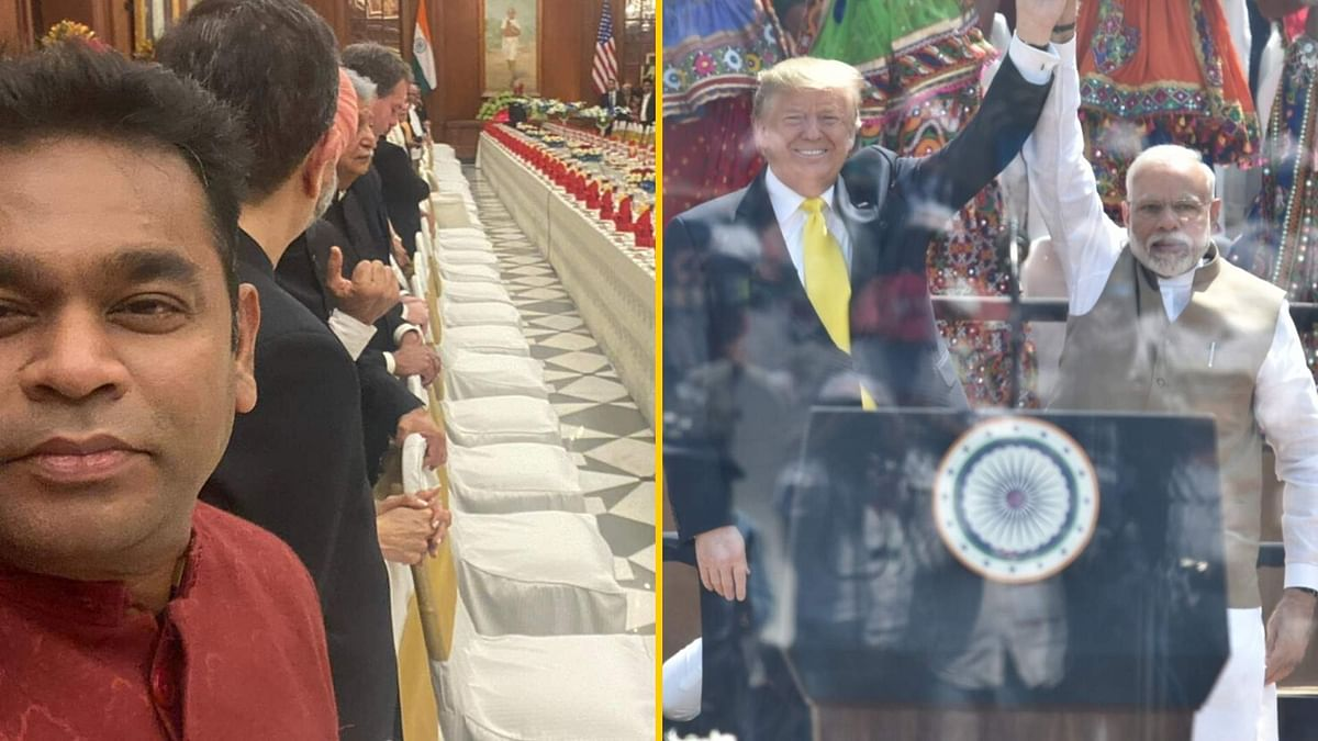 Rahman Dines With Trump; Fans Condemn Silence on Delhi Violence