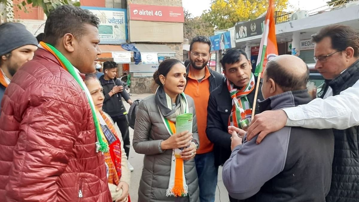 The daughter of former speaker Yoganand Shastri, Singh is also the vice president of Delhi Mahila Congress.