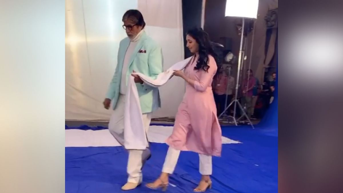 Amitabh Bachchan and Divyanka Tripathi.