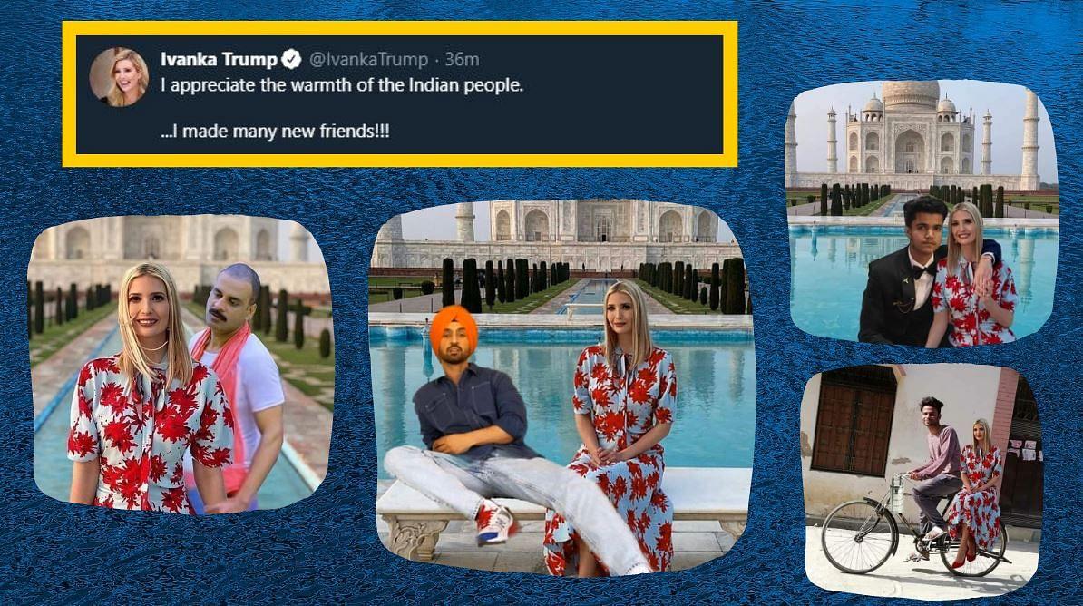 'Spectacular': Ivanka Trump on Diljit Dosanjh's Photoshopped Image