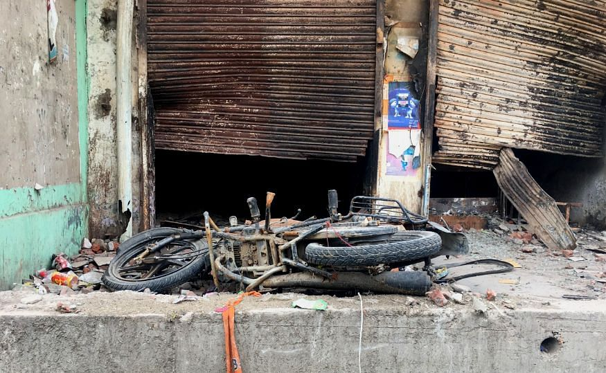 Shops were burnt down and vehicles were torched.