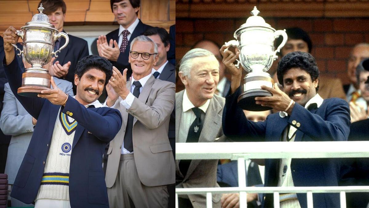 Ranveer Singh Recreates Kapil Dev's Cup Winning Moment for '83