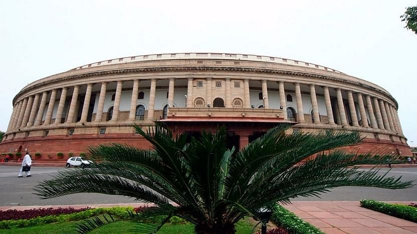 File image of the current Parliament building in Delhi.