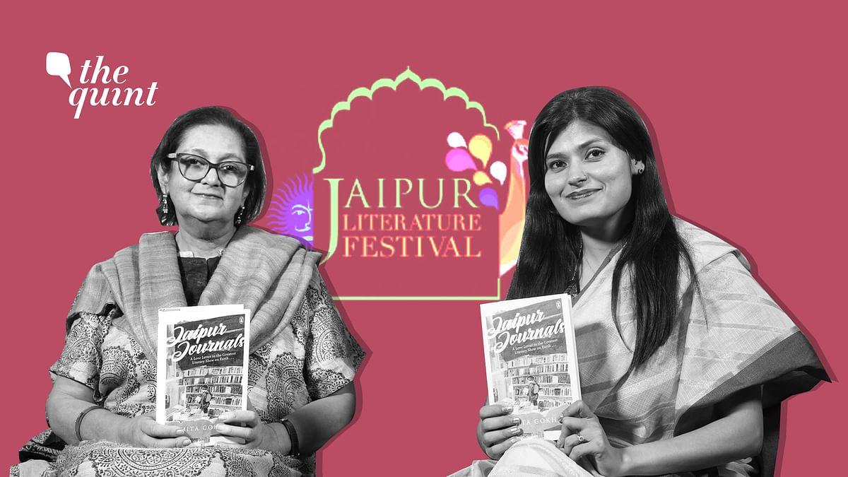 Ex-lovers, High Heels & Netas: Namita Gokhale on JLF's Inner World