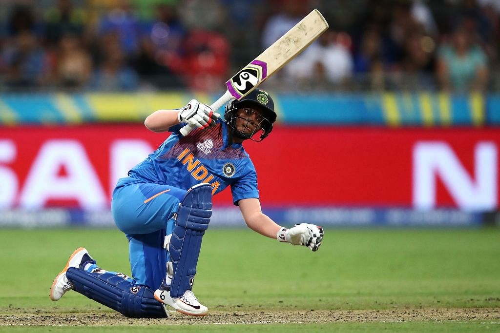 India beat Australia in the 2020 T20 World Cup tournament opener.